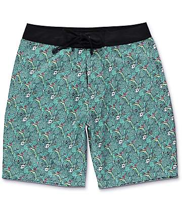 RipNDip Frida Green Board Shorts
