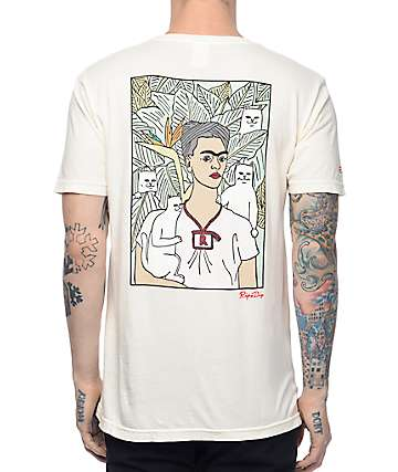 RipNDip Frida Off White T-Shirt