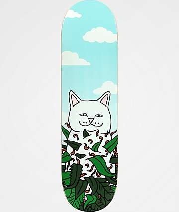 "RipNDip Green Thumb Nermal 8.5"" Skateboard Deck"
