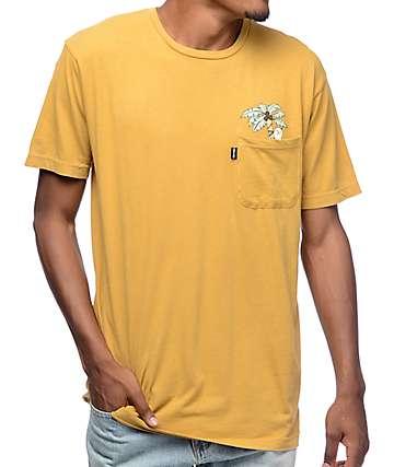RipNDip Jungle Nermal camiseta marrón con bolsillo