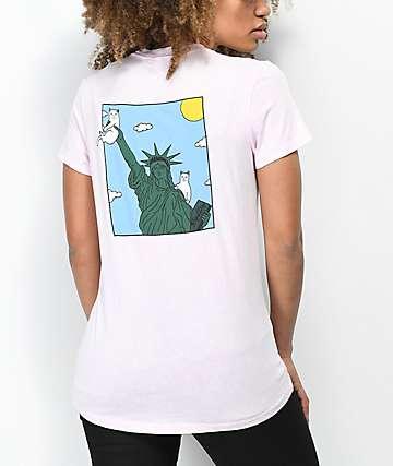 RipNDip Liberty Pink T-Shirt