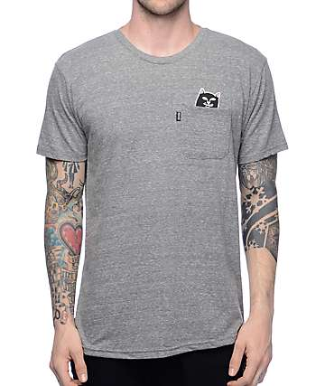RipNDip Lord Jermal Heather Grey T-Shirt