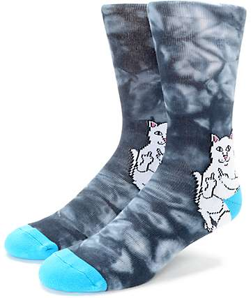 RipNDip Lord Nermal Acid calcetines en negro y azul