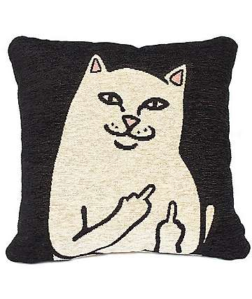 RipNDip Lord Nermal Granny Pillow