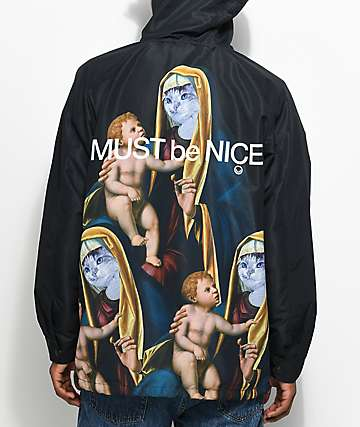 RipNDip Madonna Black Hooded Jacket