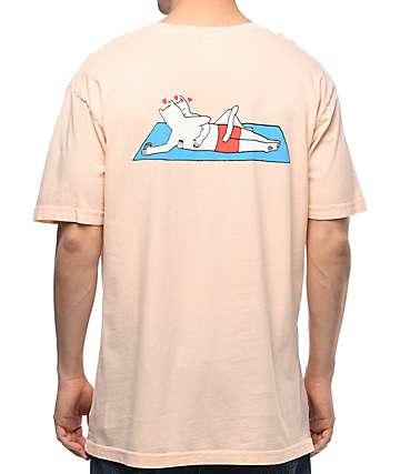 RipNDip Must Be Nice camiseta color salmón