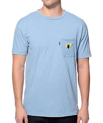 RipNDip Neighborhood Watch Light Blue Pocket T-Shirt