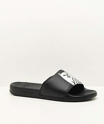 RipNDip Nermal Black Slide Sandals