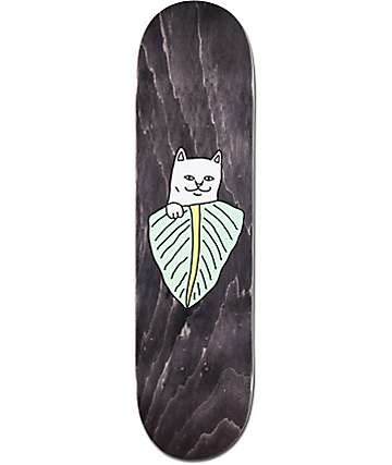 "RipNDip Nermal Leaf 8.0"" Skateboard Deck"