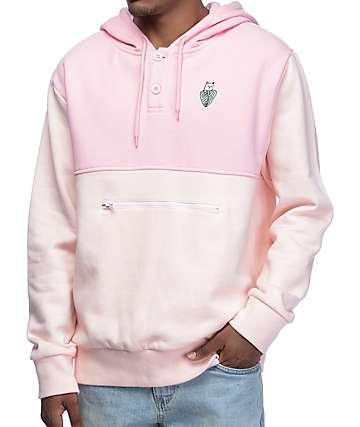RipNDip Nermal Palm Pink Henley Hoodie