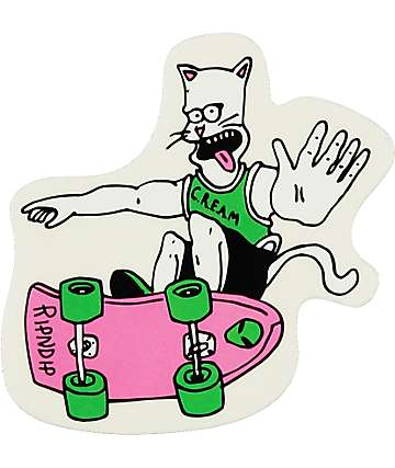 RipNDip Nermal Shredder Sticker