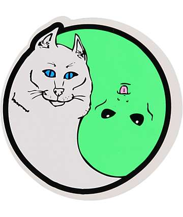 RipNDip Nermal Yang Sticker