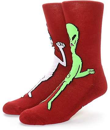 RipNDip Nermis & Butthead Crew Socks