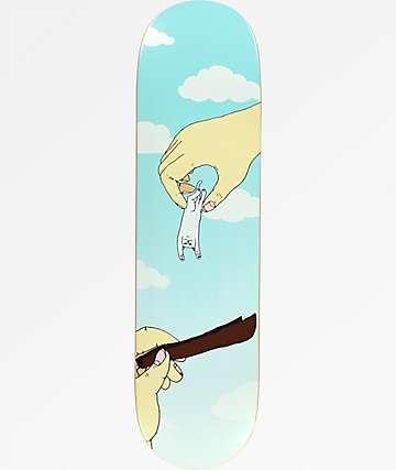 "RipNDip Rolled Up Nermal 8.38"" Skateboard Deck"