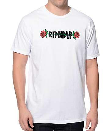 RipNDip Rose White T-Shirt