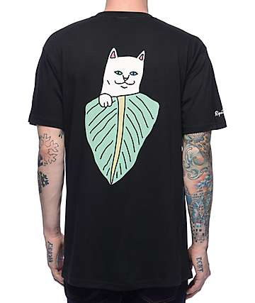 RipNDip Safari Nermal Black T-Shirt