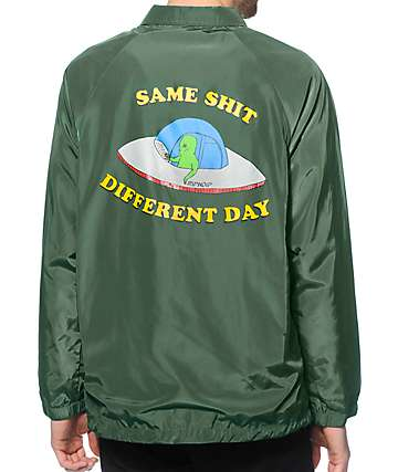 RipNDip Same Shit Different Day Coach Jacket