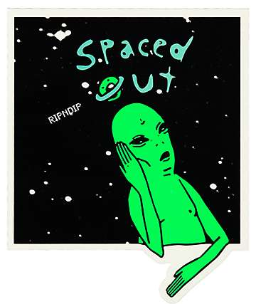 RipNDip Spaced Out Sticker