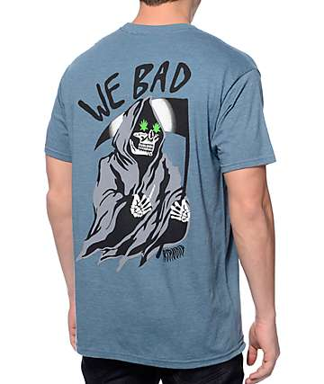 RipNDip We Bad Grim Reaper Blue T-Shirt