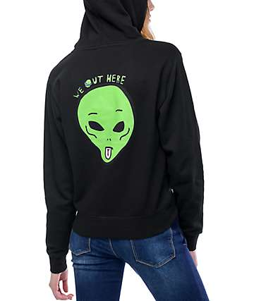 RipNDip We Out Here Black Hoodie