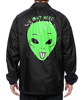 RipNDip We Out Here Coach Jacket