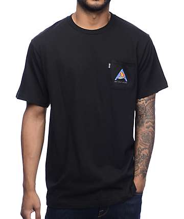 RipNDip We Out Here UFO Camp Black Pocket T-Shirt
