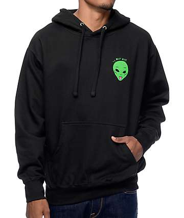 RipNDip We Out Here sudadera negra con capucha