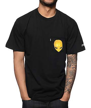 RipNDip x Lil Mayo Black Pocket T-Shirt