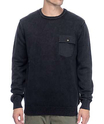 Roark Ferry Raider Charcoal Sweater