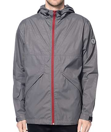 Roark First Light Charcoal Windbreaker Jacket