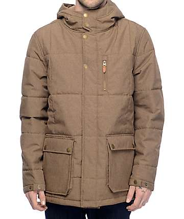 Roark Mainline 5K Brown Parka Jacket