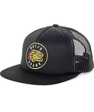 Roark NOYFB Black Trucker Hat