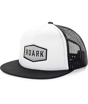 Roark Plaque White & Black Trucker Hat