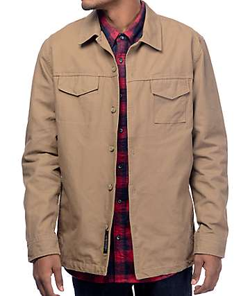 Roark Revival Highballer Dark Khaki Twill Jacket