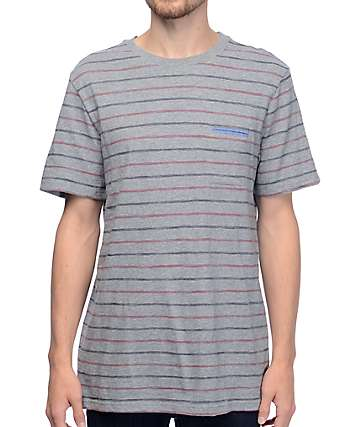 Roark Revival Vargas Heather Grey Knit T-Shirt