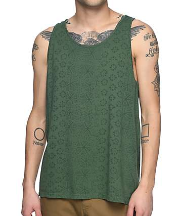 Roark Revival Well Worn Green Tank Top