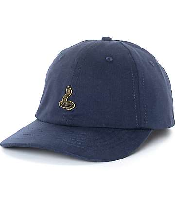 Roark Snake Pin Navy Dad Hat