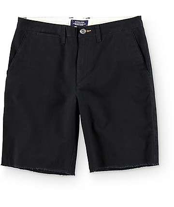 Roark The Porter Black Twill Shorts