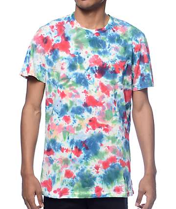 Roark Well Worn Tie Dye Pocket T-Shirt
