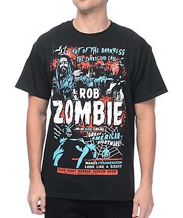 Rob Zombie Zombie Calls Black T-Shirt