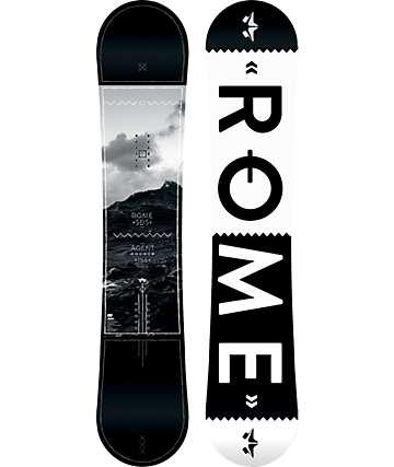 Rome Agent Rocker 156cm Wide Snowboard