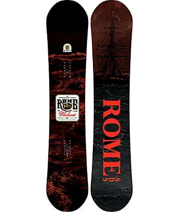 Rome Mechanic 157cm Wide Snowboard