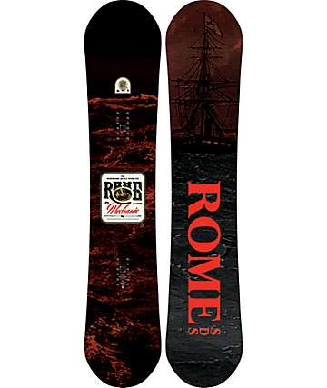 Rome Mechanic Snowboard ancha de 154cm