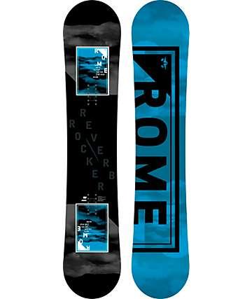 Rome Reverb Rocker 158cm Wide Snowboard