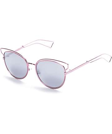 Rose Double Frame Butterfly Sunglasses