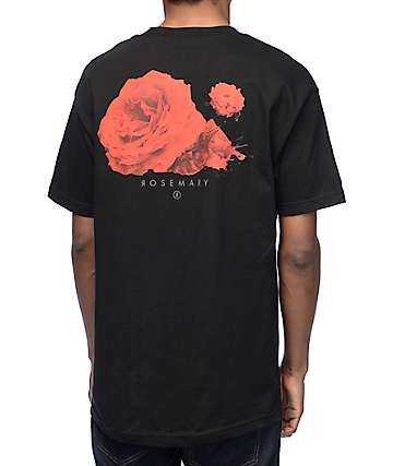 Rosemary Jaded Black T-Shirt