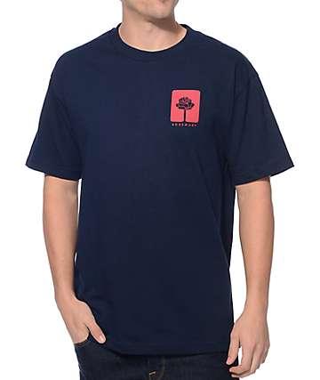 Rosemary Rosebud Navy T-Shirt
