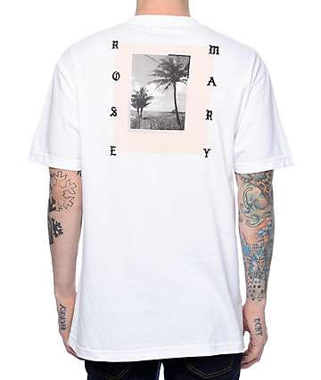Rosemary Still White T-Shirt