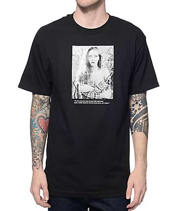 Rosemary Vine Black T-Shirt
