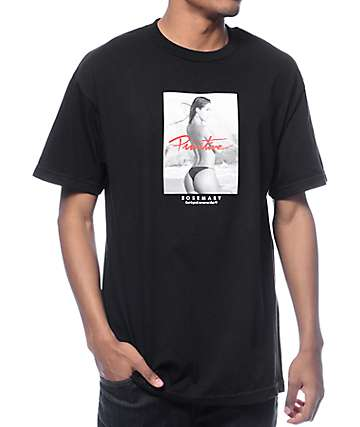 Rosemary x Primitive High Tide Black T-Shirt